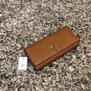 NWT Michael Kors cognac color versatile wallet